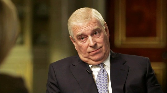 Prince Andrew Newsnight (Picture: BBC)