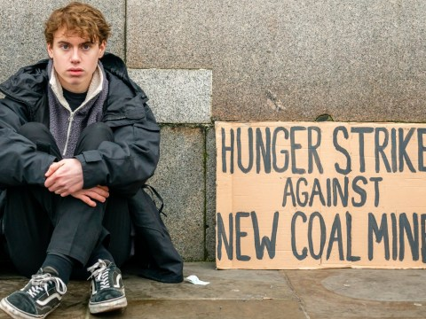 Schoolboy on climate hunger strike 'won't eat until new coal mine is scrapped'