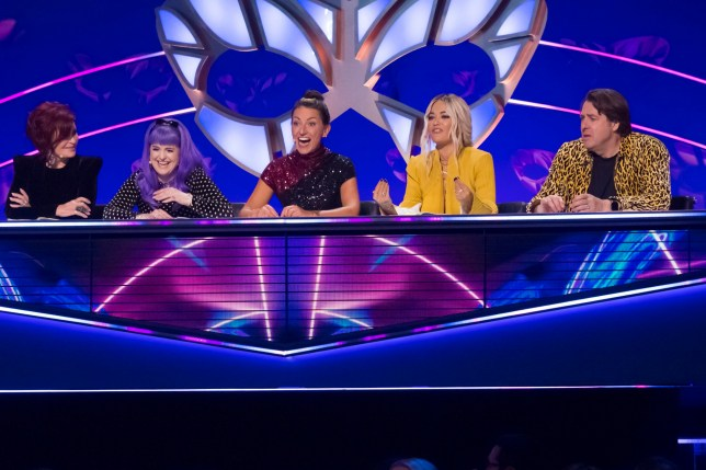 The judging panel on The Masked Singer