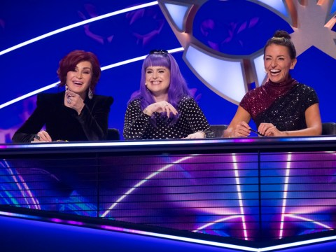 Sharon and Kelly Osbourne having 'arguments' on The Masked Singer as they join judging panel