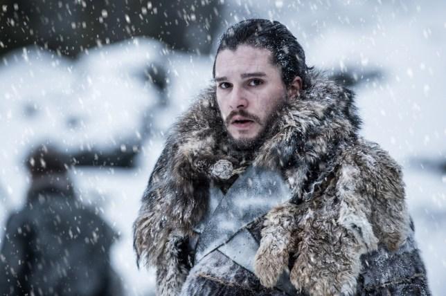 Kit Harington as Jon Snow in 'Game of Thrones'.