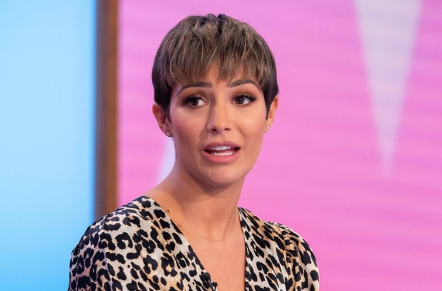 'I couldn't see the point of living any more': Frankie Bridge hospitalised for a month after breakdown