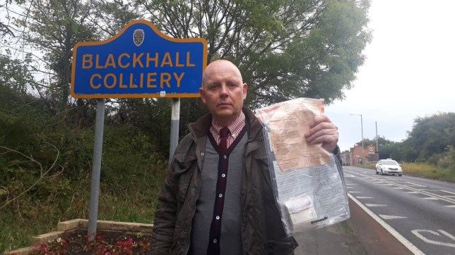 Undated Durham Constabulary handout photo of Detective Constable John Forster, of Peterlee CID. Police have praised honest residents who have repeatedly handed in bundles of thousands of pounds in cash which have turned up in their village. PA Photo. Issue date: Monday November 18, 2019. Since 2014, 12 packages of ??20 notes have been dumped in plain sight in the streets of Blackhall Colliery, County Durham, and they almost always add up to exactly ??2,000. The latest unusual find occurred on Monday, with the cash being left at different locations in the former pit community. See PA story POLICE Cash. Photo credit should read: Durham Constabulary /PA Wire NOTE TO EDITORS: This handout photo may only be used in for editorial reporting purposes for the contemporaneous illustration of events, things or the people in the image or facts mentioned in the caption. Reuse of the picture may require further permission from the copyright holder.
