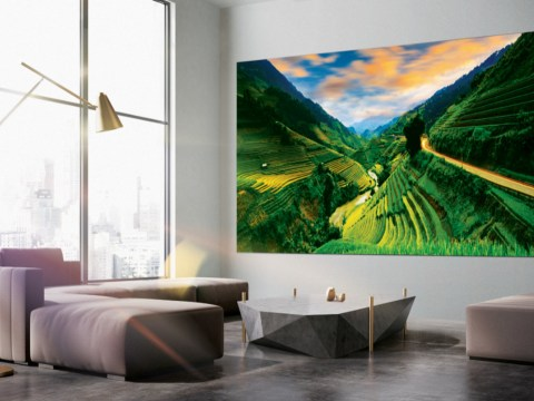 Samsung trots out massive 292-inch TV called 'The Wall' at international gadget show