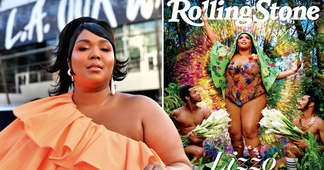 Lizzo on Rolling Stone cover