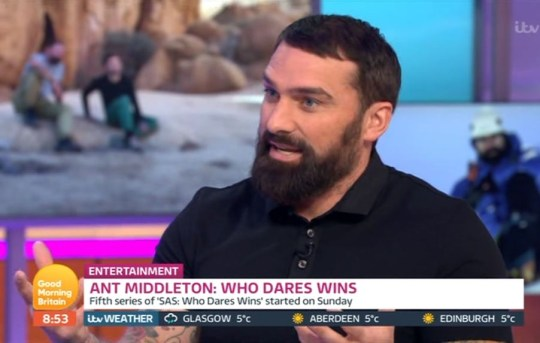 Ant Middleton on GMB
