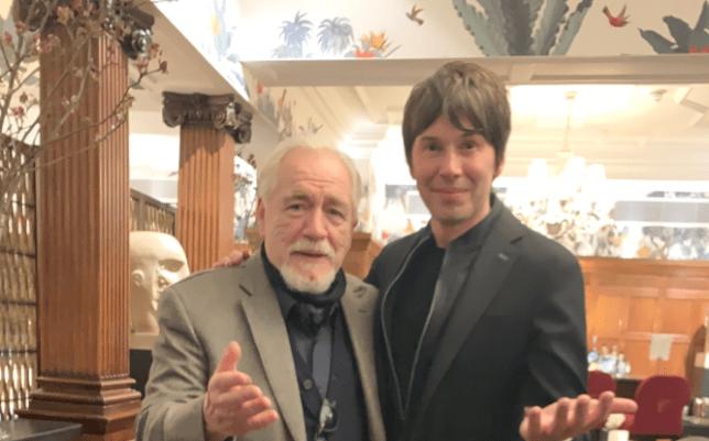 Professor Brian Cox and Brian Cox