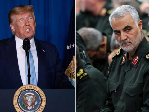 Donald Trump says he 'terminated' Iranian general to end his 'sick passion' for killing