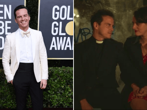 Fleabag's Andrew Scott finally answers if there'll be a Hot Priest spin-off at Golden Globes 2020