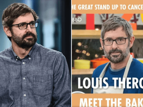 Louis Theroux is deadpan as ever after Celebrity Bake Off announcement