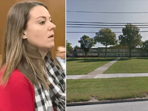 Teacher 'had sex with two students in her car'