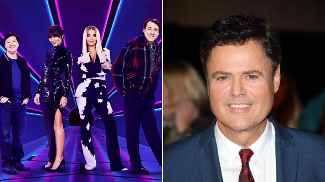 The judges of The MAsked Singer and Donny Osmond
