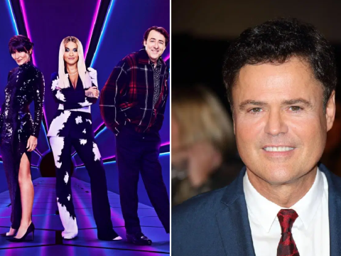 How long is Donny Osmond replacing Ken Jeong on The Masked Singer for?