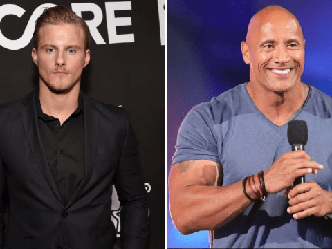 Vikings' Alexander Ludwig went to Dwayne Johnson for workout tips ahead of Bad Boys For Life