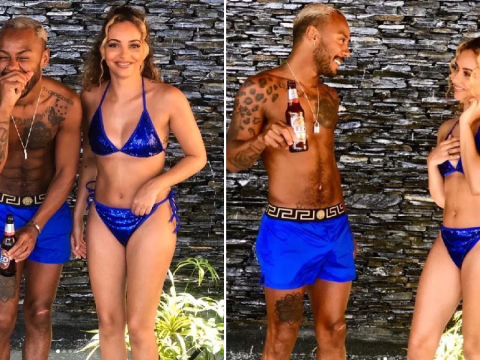 Little Mix star Jade Thirwall has got bikini blues as she strips off in Thailand for epic holiday with pal Marcus Collins