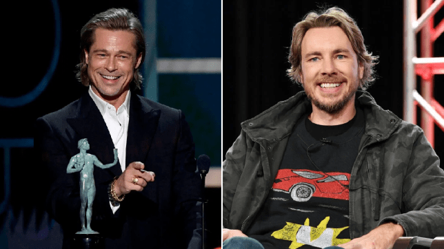 Brad Pitt and Dax Shepard's bromance is what we need to stan right now