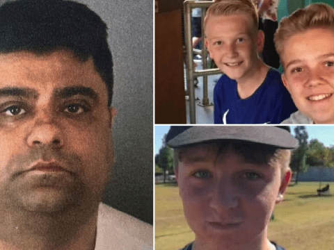 Driver kills three boys after he 'intentionally rammed' car carrying six teenagers