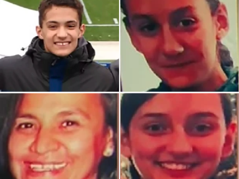 Boy, 16, 'coldly shot mother and four siblings dead as each returned home for the day'