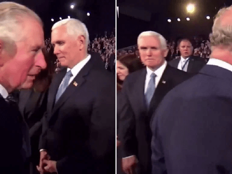 Prince Charles 'snubs' Mike Pence at Holocaust memorial event