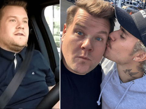 James Corden reacts to Carpool Karaoke revelation that he doesn't even drive the car