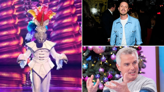 Unicorn The Masked Singer, Jake Shears, John Barrowman