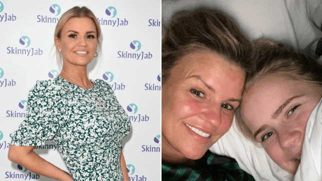 Kerry Katona and daughter Lilly