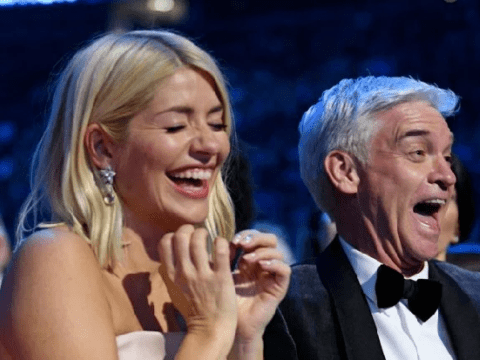 Piers Morgan's graphic text to Holly Willoughby after she won NTA needs parental guidance label