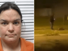 Animal abuser arrested after nosy neighbor films her throttling golden retriever