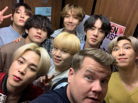 James Corden overwhelmed by BTS ARMY as they help raise money for a charity he supports
