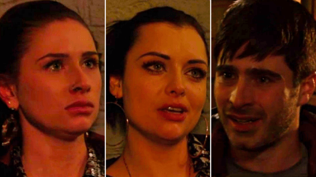 Dotty, Whitney and Leo in EastEnders