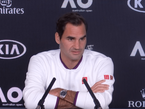Roger Federer rates his chances of beating Novak Djokovic and winning Australian Open