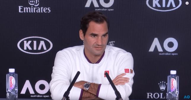 Roger Federer rates his chances of beating Novak Djokovic and winning Australian Open