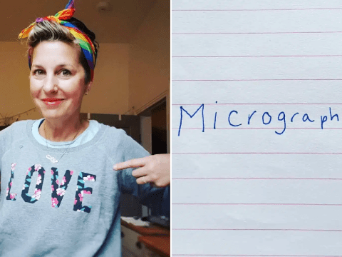 Mum discovers she has Parkinson's after her handwriting changed