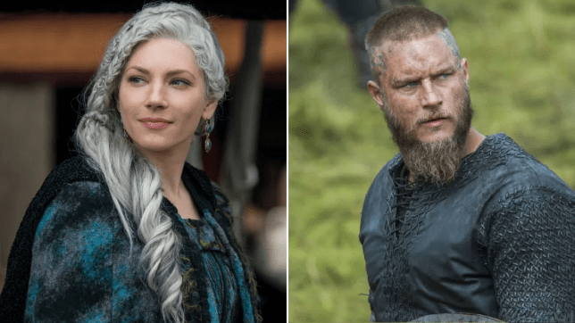 Vikings Katheryn Winnick And Travis Fimmel Reunion In Valhalla Metro News