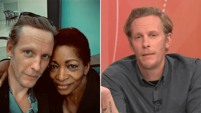 Laurence Fox and Bonnie Greer