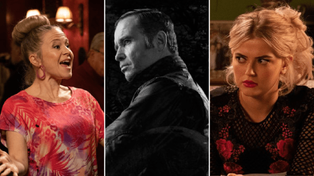Linda Carter in EastEnders, Graham Foster in Emmerdale and Bethany Platt in Coronation Street