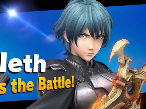 Byleth DLC is live now in Super Smash Bros. Ultimate and he's just as boring as he looks