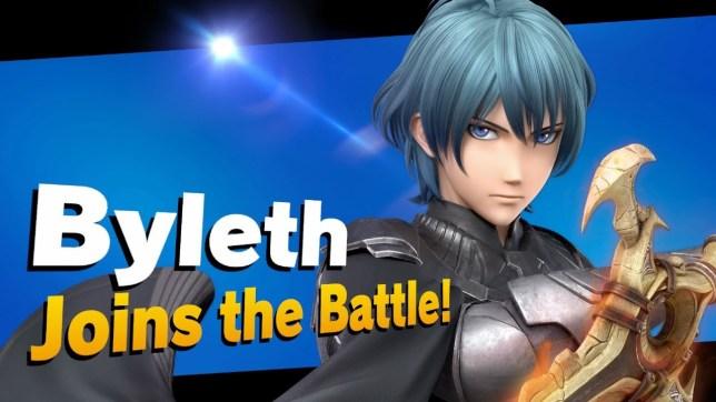 Byleth in Super Smash Bros. Ultimate