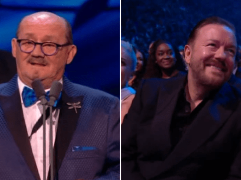 Mrs Brown's Boys star praises 'fantastic' Ricky Gervais as they beat After Life at National Television Awards