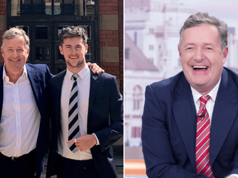 Piers Morgan insists son 'would be good' on Love Island as Ollie Williams quits show