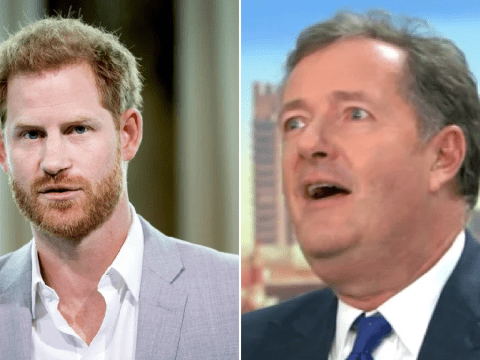 Piers Morgan reckons Prince Harry 'will be a stoner living in California' in seriously bizarre remark