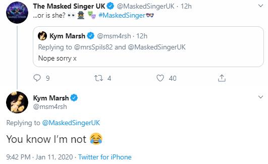 Kym Marsh on Twitter