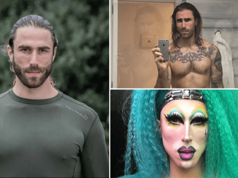Inside SAS: Who Dares Wins recruit Mark's social media and best looks as drag queen Cybil War