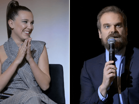 Stranger Things: David Harbour and Millie Bobby Brown reunite with cast for special Q+A ahead of season 4 start