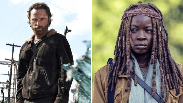 The Walking Dead Rick Grimes Michonne