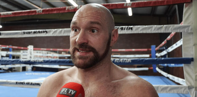 Tyson Fury claims he will face Deontay Wilder, Anthony Joshua and Dillian Whyte in final three fights before retiring