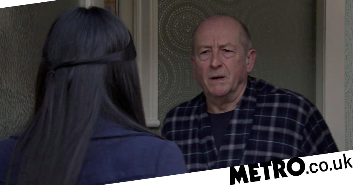Spoilers: Alya makes a disgusting discovery about evil Geoff in Corrie