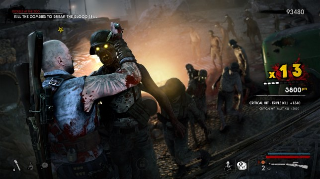 Zombie Army 4: Dead War review – the dead don't snipe