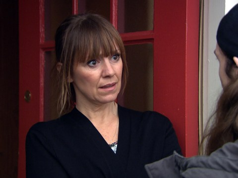 Emmerdale spoilers: Rhona Goskirk is terrified as Pierce returns to haunt her