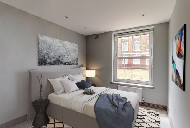raffle house bedroom